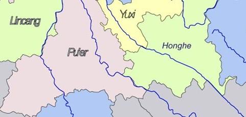 Geografie puerhu